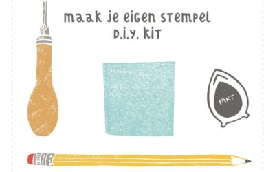 D.I.Y-kit stempels maken. Hèt creatieve cadeau