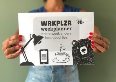 WRKPLZR weekplanner