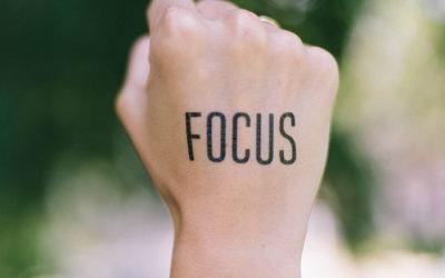 Focus : tips hoe je met meer aandacht werkt